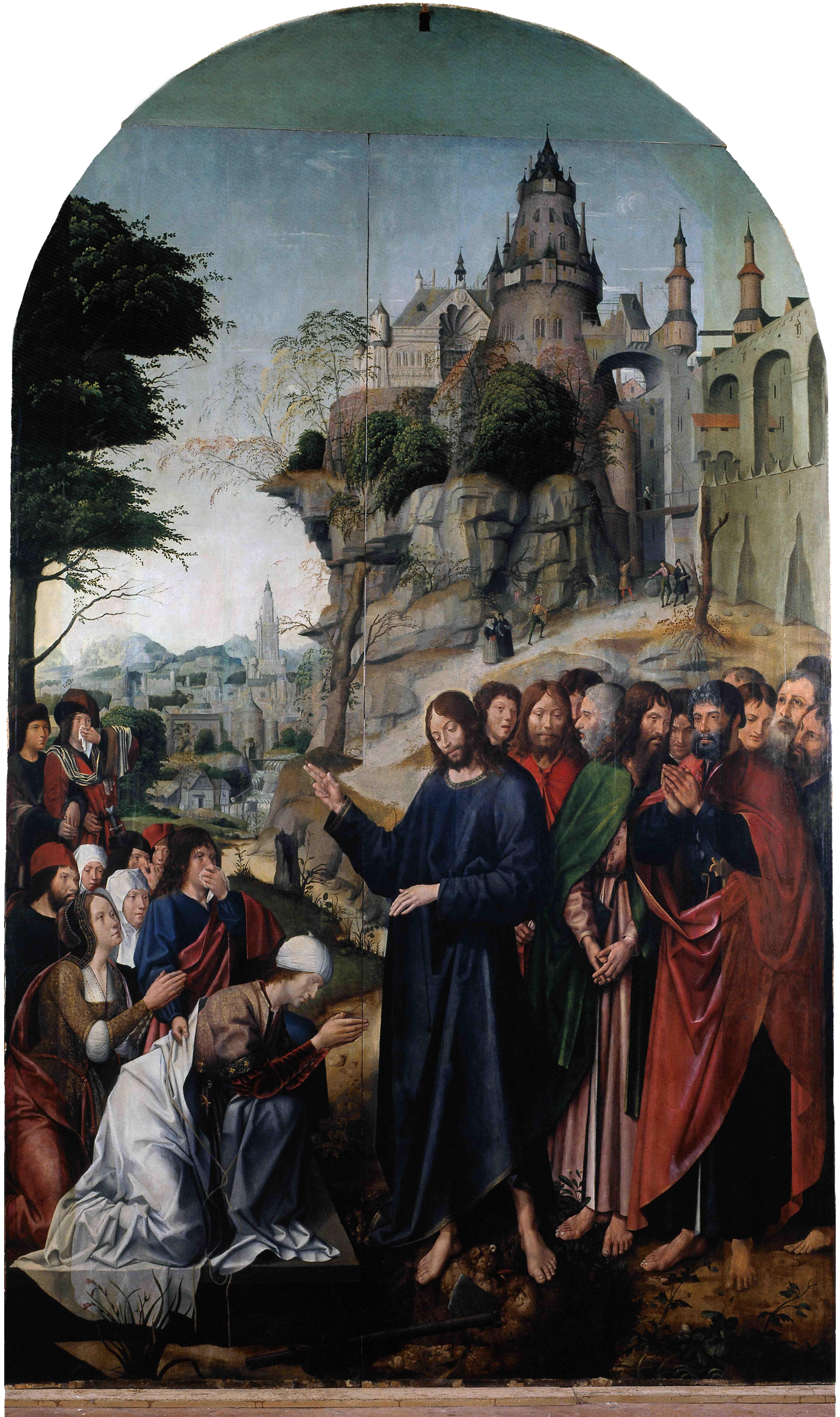 Convent of Christ, c.1510-c 1515  Resurrection of Lazarus
