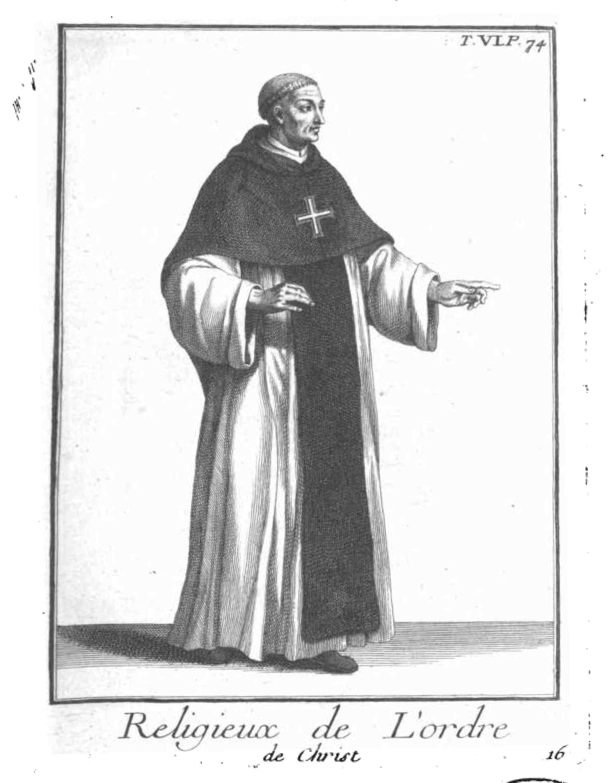 Religioso da Ordem de Cristo