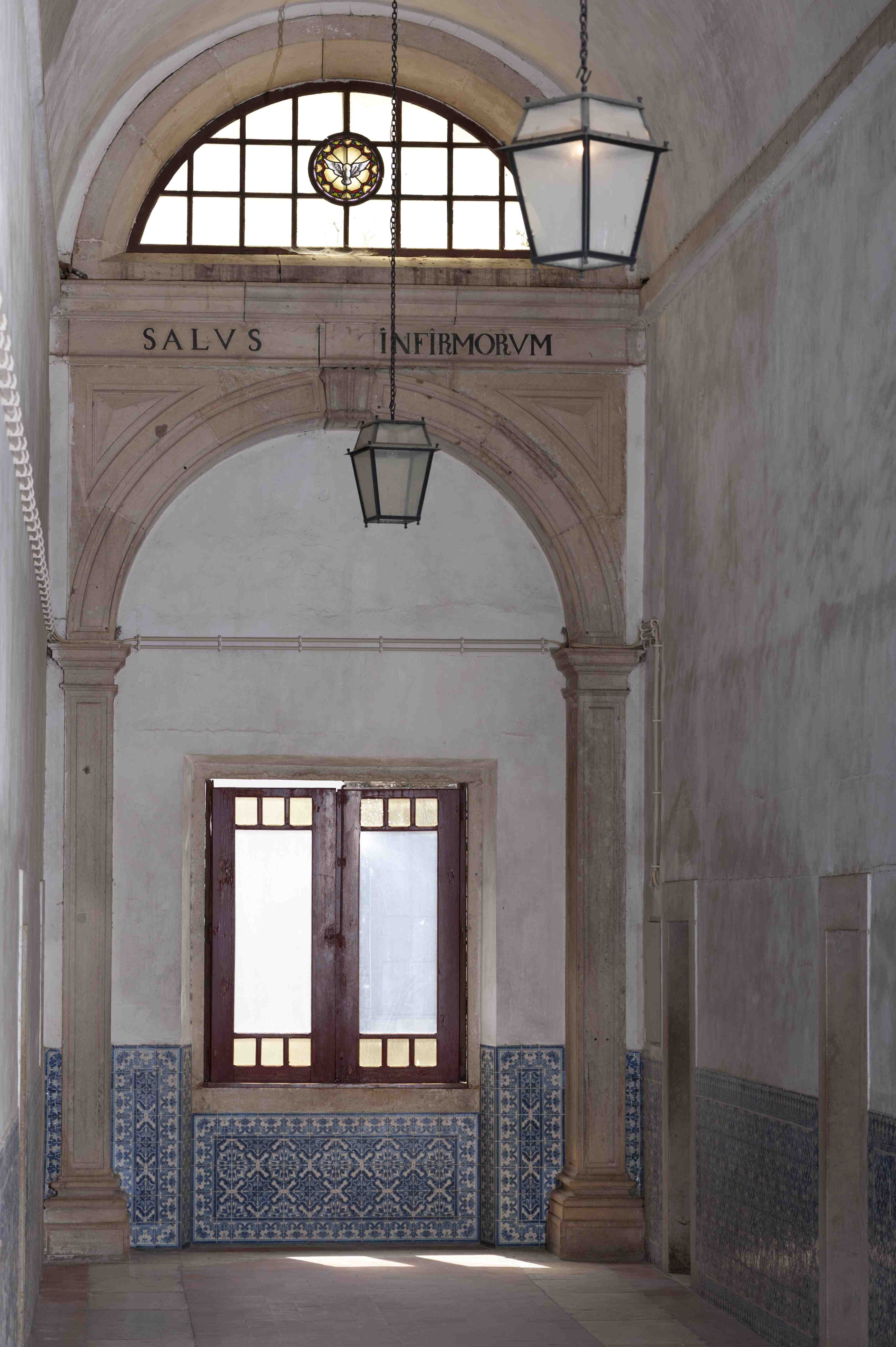Corridor of the Infirmary of Convent of Christ
