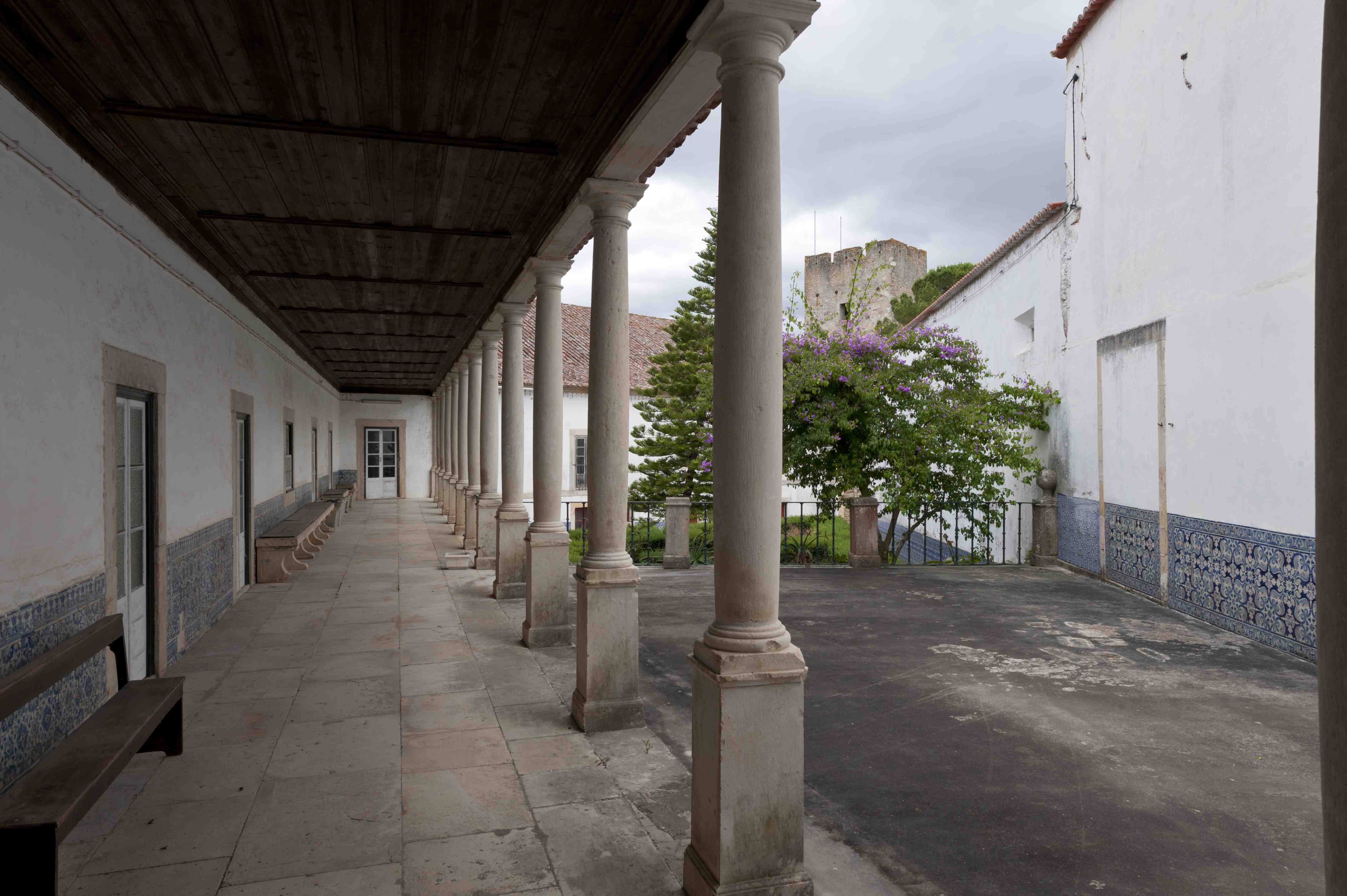 Patio of Botica Convent of Christ (east view)