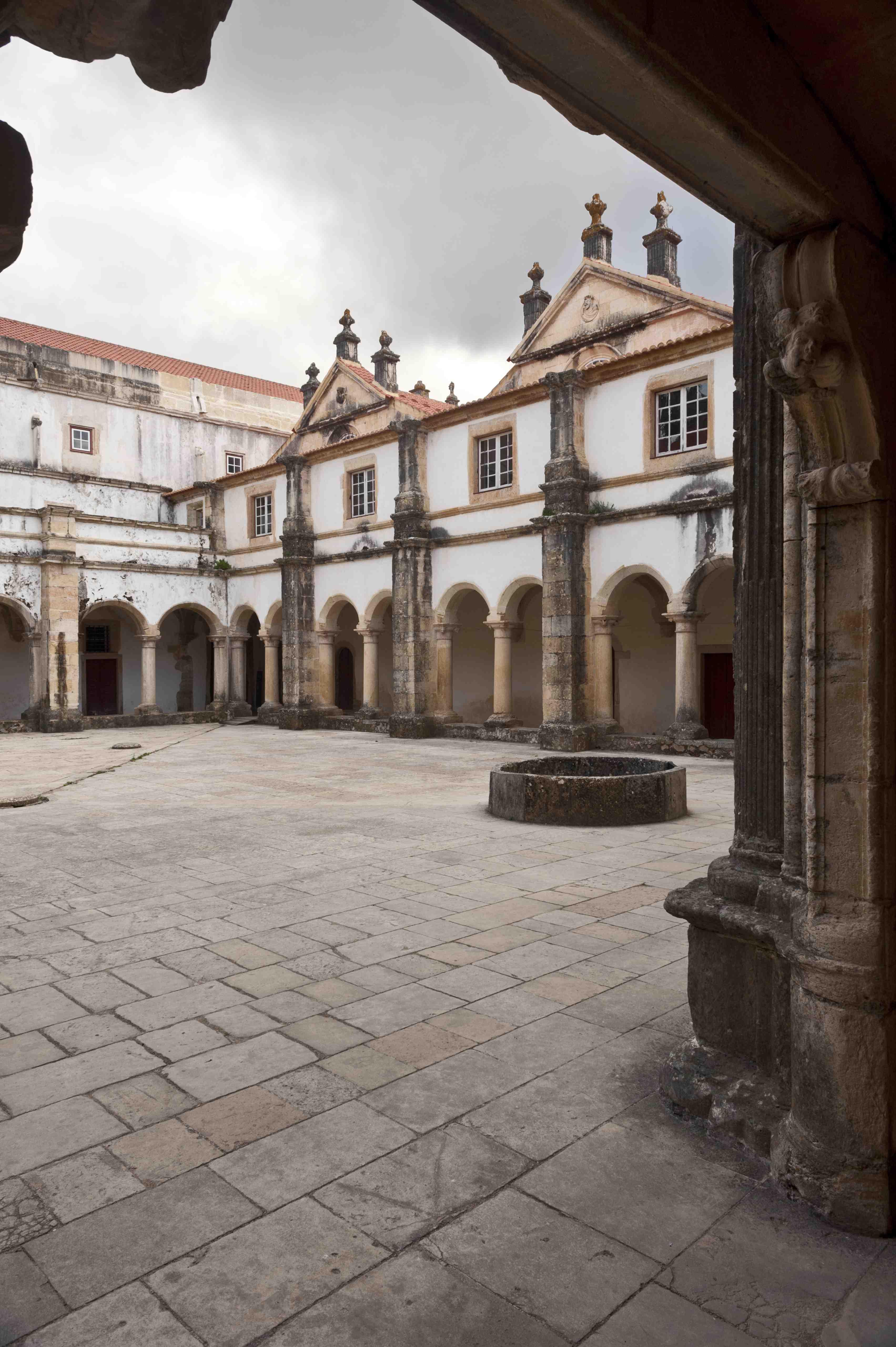 Claustro da Micha do Convento de Cristo (ala poente)