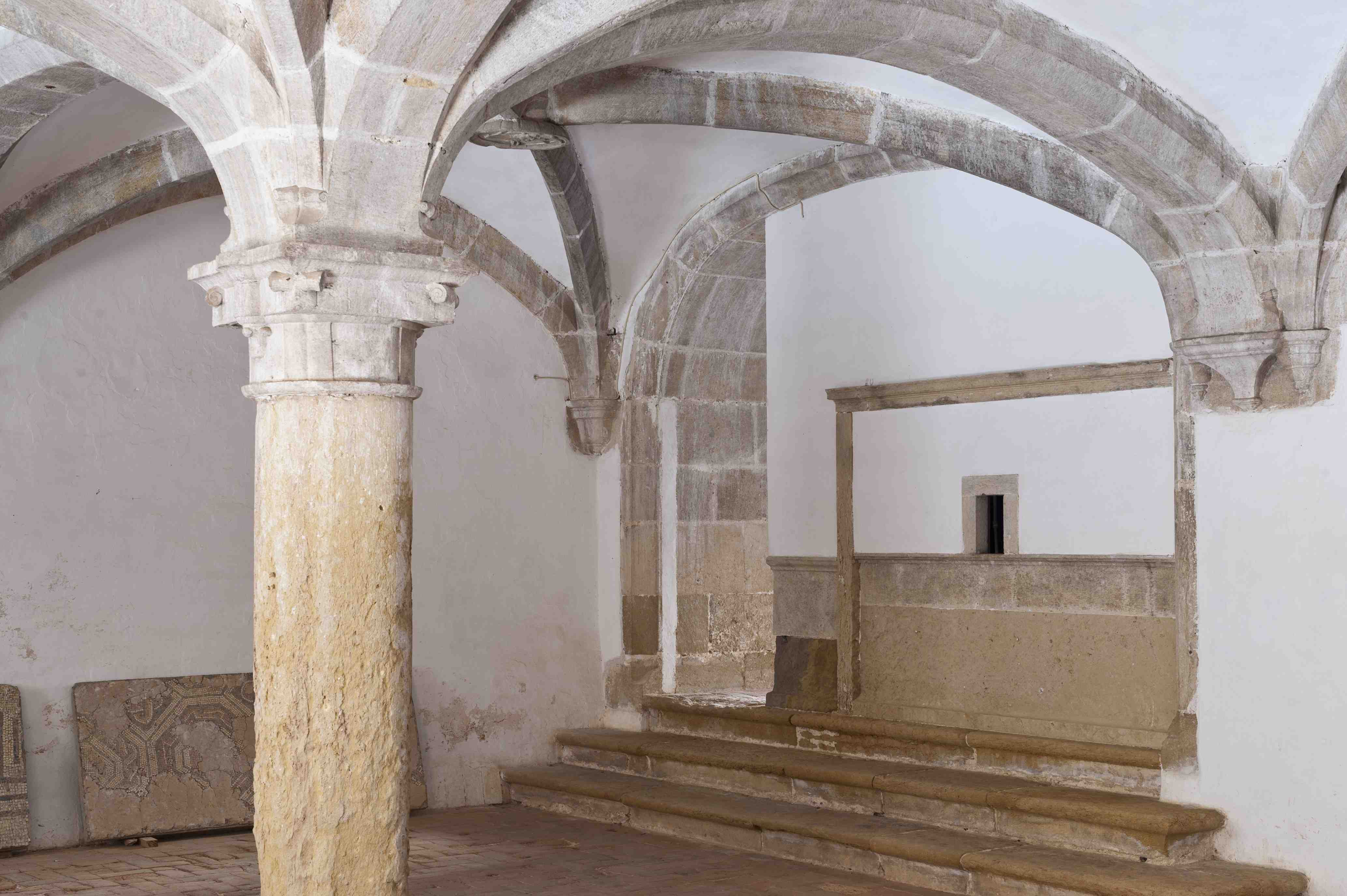 Attorney room. Micha Cloister of the Convent of Christ (XVI century)