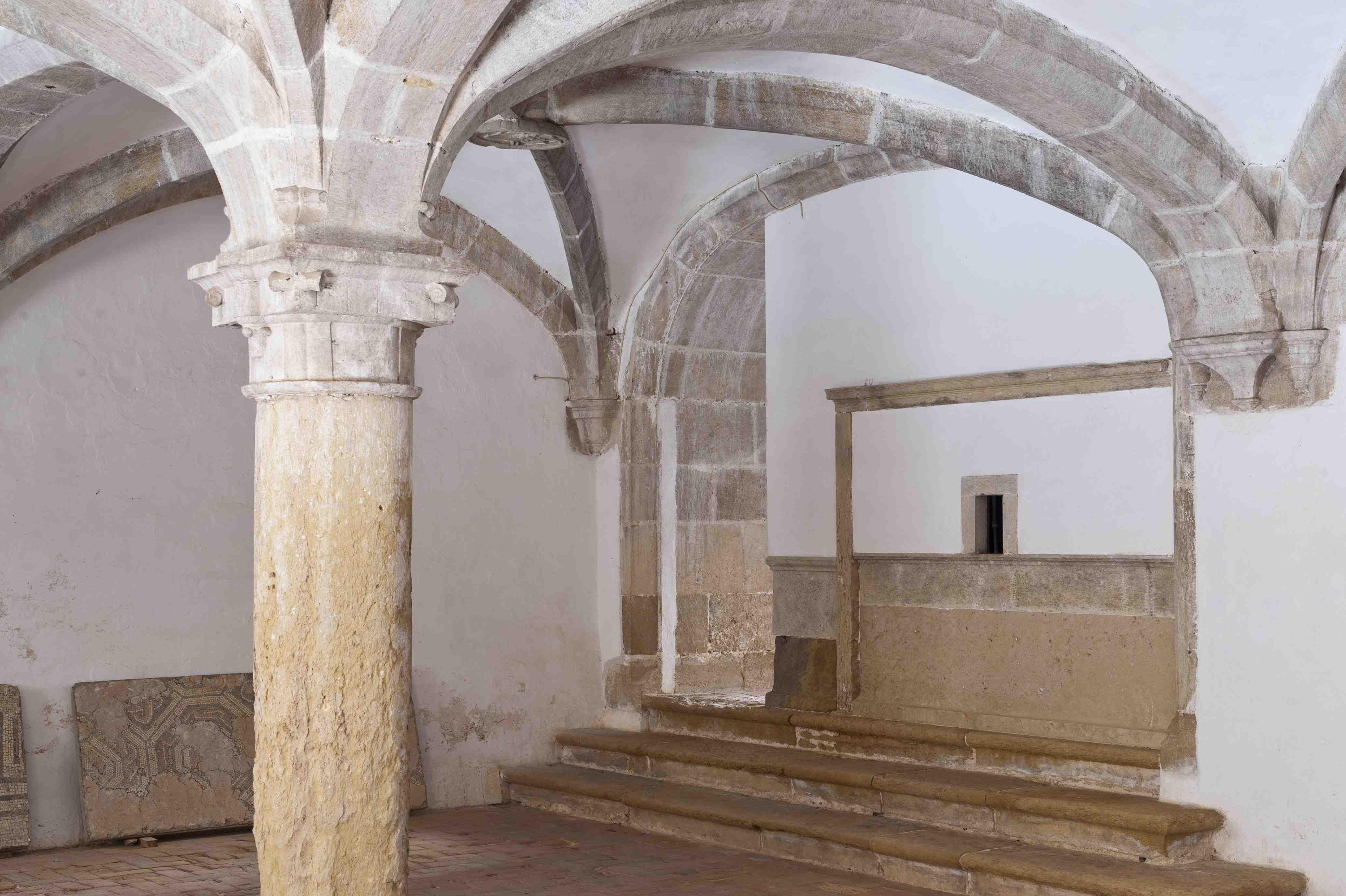 Sala da Procuradoria. Claustro da Micha do Convento Cristo (século XVI)