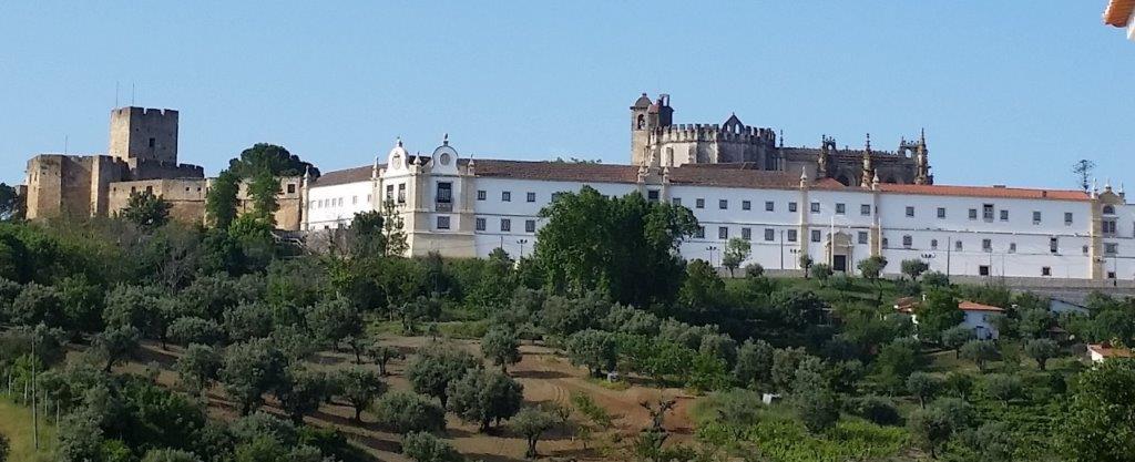 Castelo Templário e Convento de Cristo (vista geral norte)