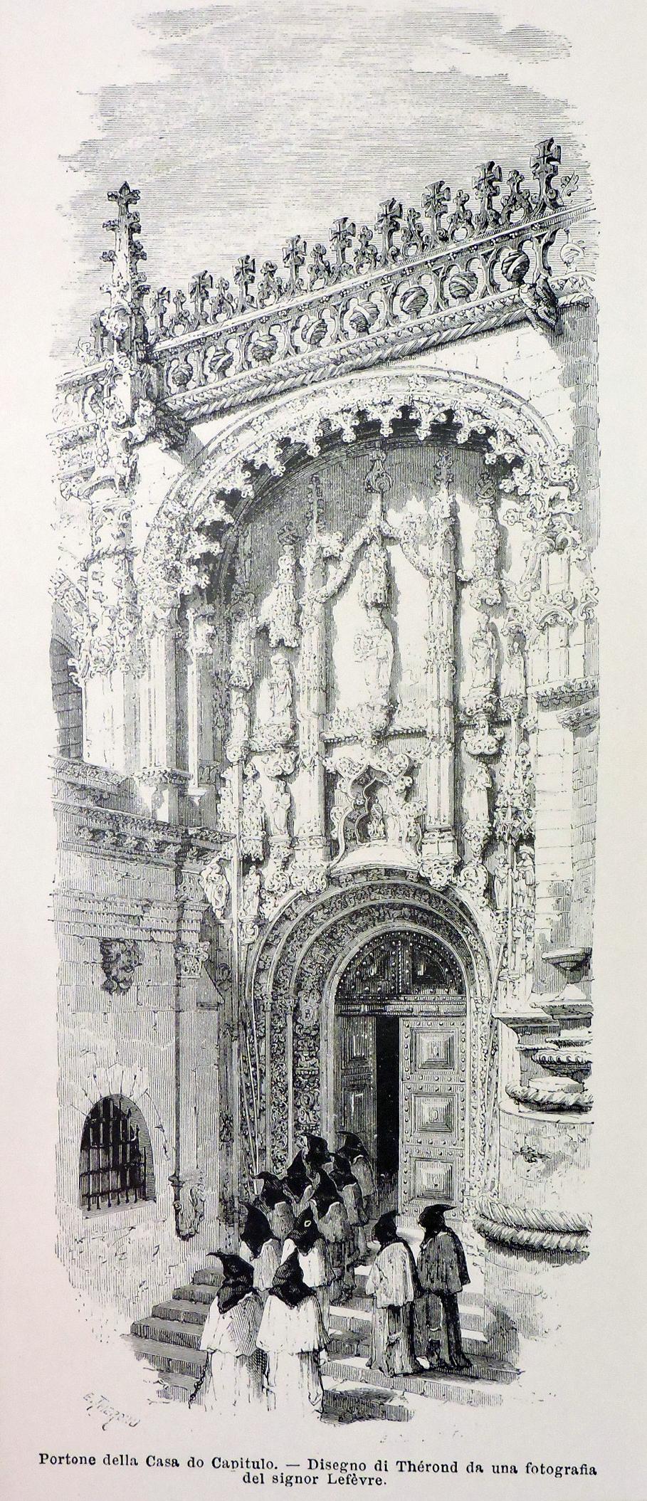 Portão da Casa do Capítulo
