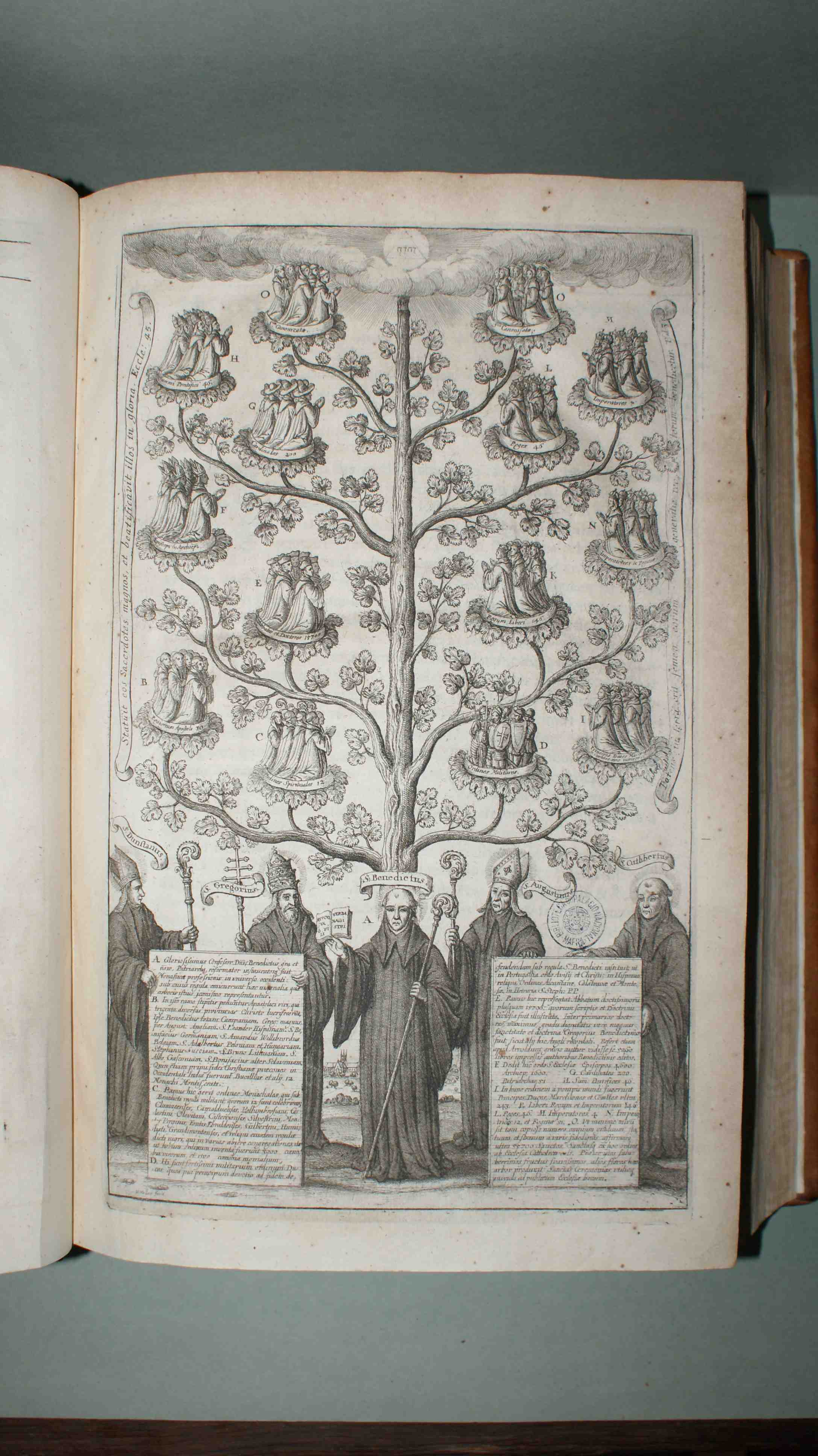 Monasticon anglicanum... per Rogerum Dodsworth, per  Gulielmum Dugdale, Dondini, 1655  (BPNM)