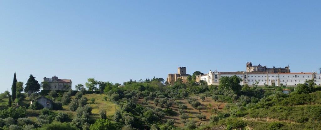 Vista do Convento de Cristo